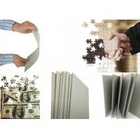 Buy cheap High Stiffness Anti-Curl Grade AA Uncoated Grey Board Used for Puzzle package from wholesalers