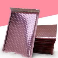 Wholesale Shiny MetallicBubbleMailers , Aluminium Foil Holographic BubbleMailers from china suppliers