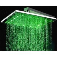 """Wholesale 12"""" LED Lighting Stainless Steel Square Shower Head, FD-2006-02 from china suppliers"""