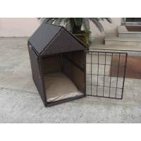 Wholesale Aluminum Frame KD Wicker Pet Bed , Outdoor Waterproof Dog House from china suppliers