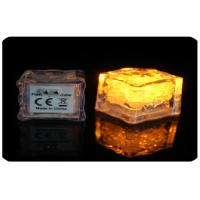 Wholesale 2.8cm Water Or Liquid Activated Led Light Ice Cubes With AG3 Cell Battery from china suppliers