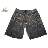 Wholesale Swim Waterproof Board Shorts With 4 Way Stretch Fabric Sublimation Printing from china suppliers