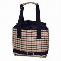 Wholesale High-quality Lunch Tote with Aluminum Inside To Keep Warm More Than 4hrs, Top String To Close Bag from china suppliers