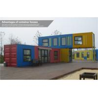 Wholesale Custom Modern Prefab Shipping Container Homes , Mobile Modular Shipping Container House from china suppliers