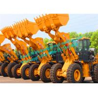 Wholesale Yellow High Carbon Steel Small Wheel Loader Dumping Height 3100mm from china suppliers