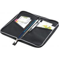 Wholesale Blue Zipper Tool Case Polyester 600D For Passport Travel Wallet from china suppliers