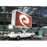 Wholesale P4 outdoor Car LED Sign Display Density 62500 , SMD High Brightness Led Screen Waterproof from china suppliers