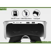 Wholesale Video Game Virtual Reality Headset , Android 5 .0 WiFi Smart Video Glasses from china suppliers
