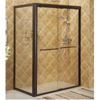 Buy cheap Framed sliding shower enclosure bath with aluminum alloy #6463 frame,S.S.#304 accessories from wholesalers