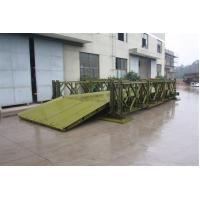Wholesale Compact 100 Prefabricated Steel Bailey Bridge 321 for Military Engineering from china suppliers