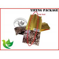 Wholesale Food Grade Plastic Coffee Packaging Bags With Aluminium Foi Materials , Moisture Proof from china suppliers