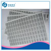 Wholesale Destructible Security Sealing A4 Self Adhesive Labels For Wine Packaging from china suppliers