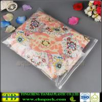 Clear Plastic Slider Zipper Bag for Clothes Packing