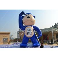 Wholesale Pvc 6m Blue Giant Inflatable Gorilla Cartoon for Advertising from china suppliers