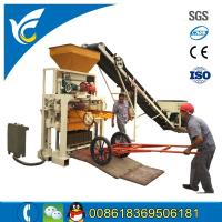 China Small concrete sand brick block making machine/4pcs block in one time block machine for sale on sale