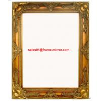 Buy cheap wood framed wall mirror from wholesalers