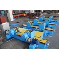 Wholesale 3Phase Blue / Yellow Welding Turning Rolls With Motor Driven System / Rubber Wheels from china suppliers