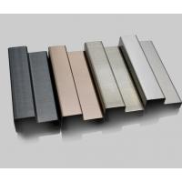 Wholesale baseboard molding stainless steel moulding shaped trim profiles from china suppliers