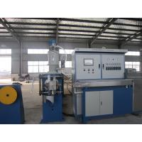 Quality UL Electronic Wire Hdpe Pipe Extruder , Φ80 mm Screw Dia Continuous Extrusion Machine for sale