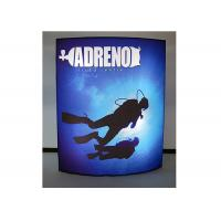 Wholesale Free Standing Double Sided Fabric LED Light Box Edge Lit Waterproof from china suppliers