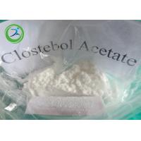 Wholesale White Crystalline Powder Clostebol Acetate / Testosterone Anabolic Steroid CAS 855-19-6 from china suppliers
