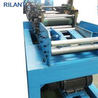 Wholesale Metal Roof Cold Roll Forming Machine Uncoiler Leveling Notched Cutting Production Line from china suppliers