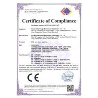 Charmhigh Technology Limited Certifications