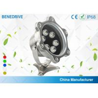 Quality Green IP68 Powerful Swimming Pool Led Lights 6 W Environment Friendly for sale
