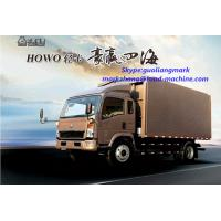 Wholesale 140 / 160hp 4 X 2 Light Duty Commercial Trucks , Four Cylinder Transport Truck from china suppliers