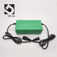 Wholesale Green Shockproof Electric Bike Charger 220V 50HZ Input , 88% Efficiency from china suppliers