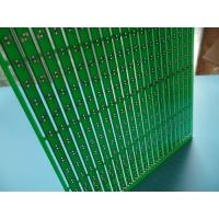 Buy cheap Long Strip 1oz double side pcb 20up per Panel Green HASL Pb Free from wholesalers