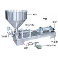 Quality Easy Control Stainless Paste Liquid Filler Equipment Manual Filling Machine for sale