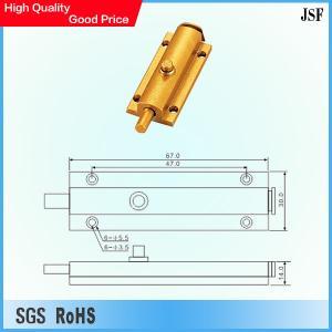 Wholesale Aluminium flush bolt from china suppliers