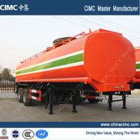 Wholesale fuel tank trailer , 30,000L fuel tank semi trailer from china suppliers