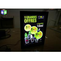Wholesale Hotel Magnetic Advertising Light Box Poster Frameless With Acrylic Sheet from china suppliers