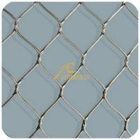 Wholesale Stainless Steel Wire Rope Mesh,Inter-Woven Rope Mesh from china suppliers