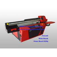 Wholesale Commercial Multicolor Flatbed UV Printer With Ricoh Industrial Print Head from china suppliers