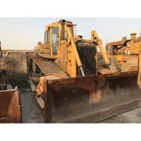Buy cheap Japan made Used Bulldozer Caterpillar D6H CAT 3306 Engine New track shoes from wholesalers