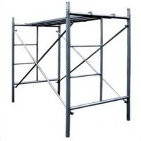 "Wholesale Q345 3'9""W * 6'4""H Powder Coating, Painting Frame Scaffolding For Large - Scale Construction from china suppliers"