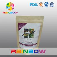 Wholesale Freeze Dried Super Food Power Customized Paper Bags With Adhesive Sticker Labels from china suppliers