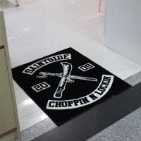 Wholesale New Custom Chromojet Photo Printed Commercial Logo Floor Door Mat from china suppliers