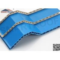 Wholesale Hollow Style PVC Roof Shingles Eco - Friendly With Thermal / Sound Insulation from china suppliers