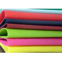 Wholesale 400gsm Staple 100 Polyester Non Woven Fabric / Nonwoven Geotextile Fabric from china suppliers