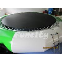 Wholesale 0.9mm PVC Tarpaulin Inflatable Water Trampoline For Amusement Water Park from china suppliers