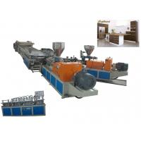 Wholesale Automatic WPC Board Production Line For Wood-Plastic Foam Board , Co-Extrusion from china suppliers