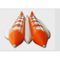 Wholesale Large Water Rescue 8 Person Flying Inflatable Banana Boat For Adults / Kids from china suppliers