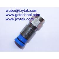 Wholesale Compression Connector F Type Waterproof Compression Type RG6 RG59 Coax Cable / F.C.007 from china suppliers