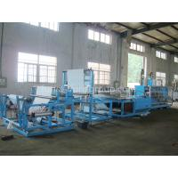 Wholesale Non - woven Fabric Sheet Folding Machine Touch Screen And PLC Control from china suppliers
