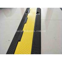 Wholesale Cable Cover Molded Rubber Products 3 Channel Yellow Jacket Outdoor Cord Protector from china suppliers