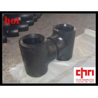 Buy cheap Carbon Steel Tee / ASME B16.9 Steel Pipe Fittings from wholesalers
